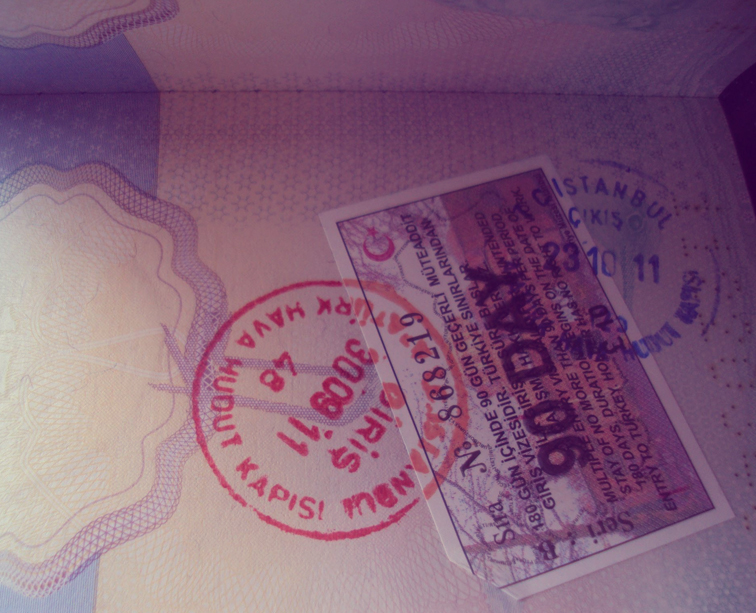 Turkey-tour-packages-visa-stamp