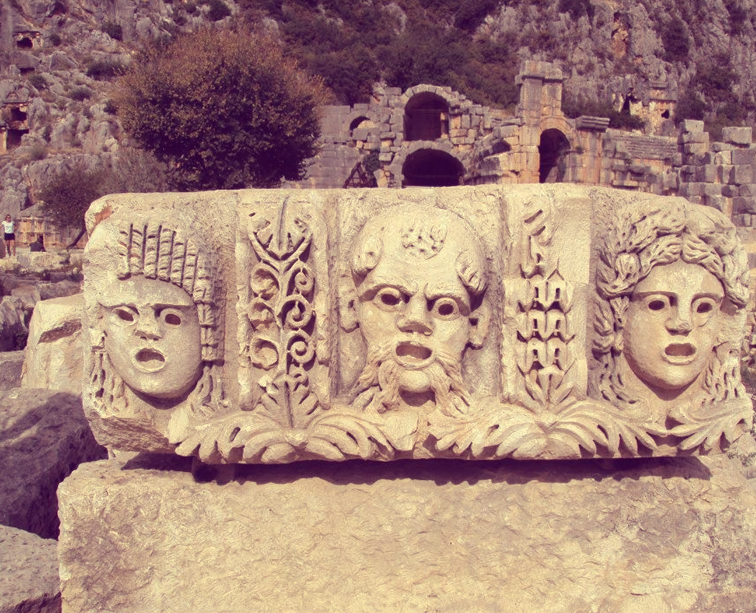 Turkey-tour-packages-Lycian-Way-rock-carving
