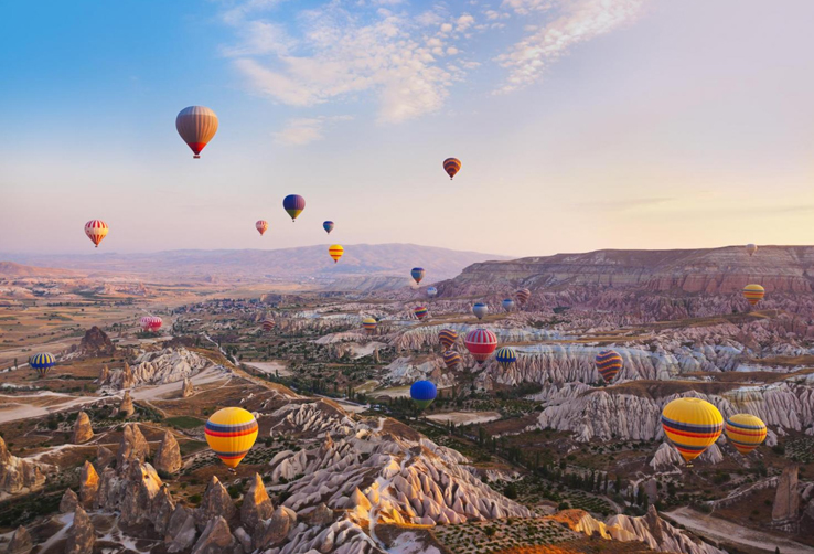 Turkey-tour-packages-Cappadocia-air-balloons