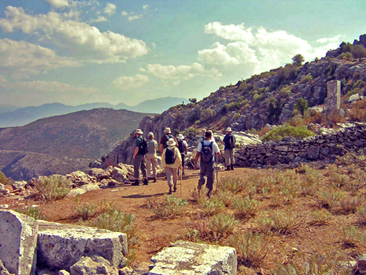 Hiking in Turkey