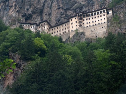 Turkey-tour-packages-Black-Sea-region-Sumela-Monastery