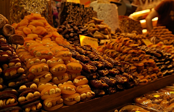 Turkey-tour-packages-market-food