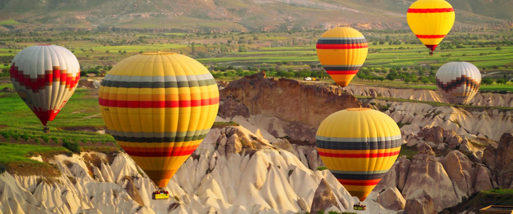 Turkey Activity Holidays Balloons over Cappadocia