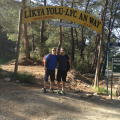 Lycian Way 2 hikers