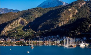 Fethiye Harbour and castle
