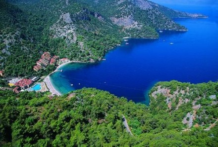 The Lycian Way coastal view