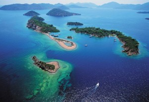 Turkey Fethiye small islands