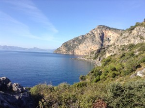 Lycian Way view