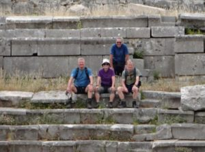 Lycian Way group xanthos
