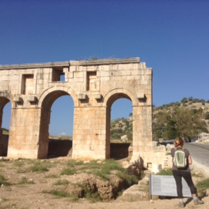 Lycian Way Patara Entrance gate