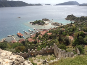 Lycian Way Simena view