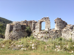 The Lycian Way Sidyma ruins