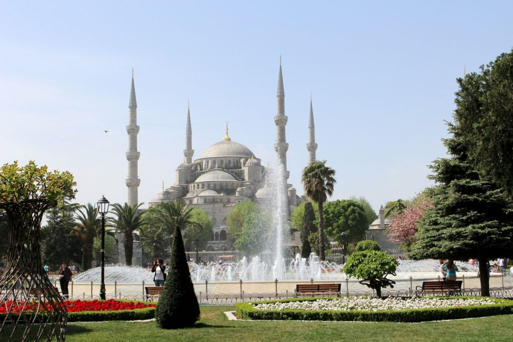 Turkey activity holidays Blue Mosque Istanbul