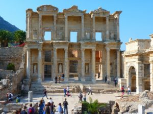 Celsus library Ephesus Turkey