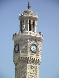 Clock tower Izmir Turkey