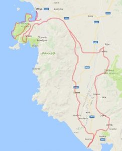 Cycling-in-Turkey-route