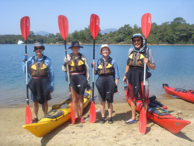Kayaking group Turkey