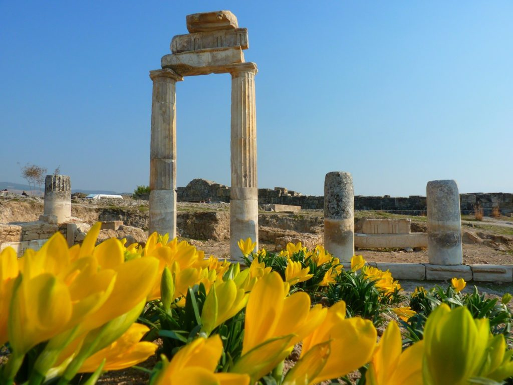 Turkey Activity Holidays Hierapolis columns