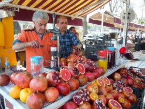 Fruit Juice seller Istanbul Turkey