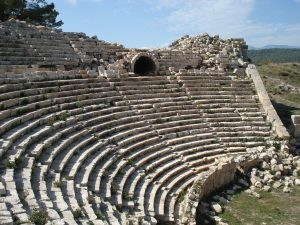 Roman Amphitheatre Lycian Way Turkey