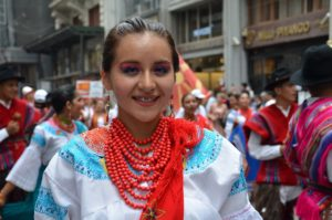 girl in traditional dress Turkey