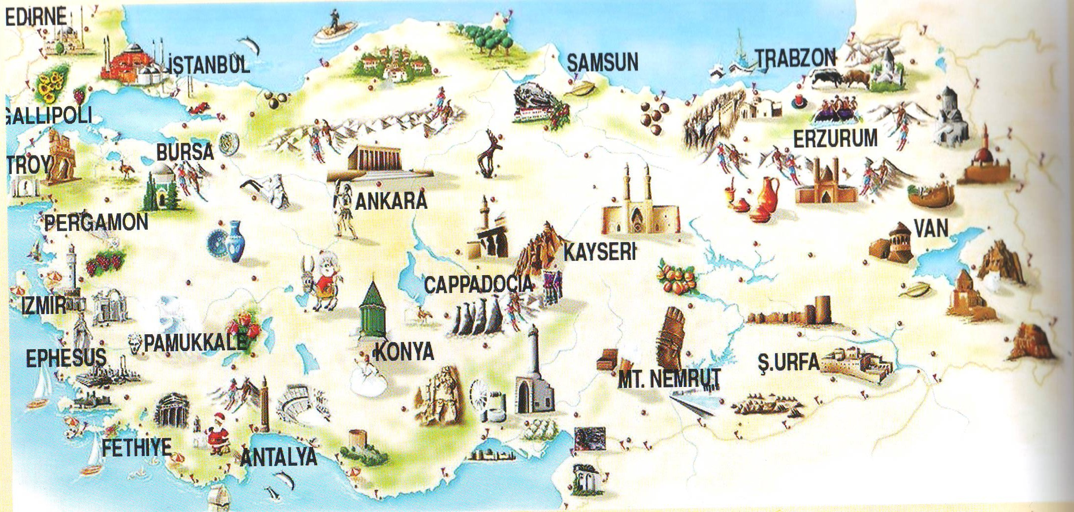 turkey top 5 destinations