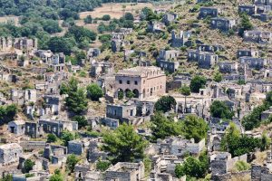 greek town kayakoy turkey