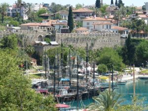 Antalya harbour Turkey