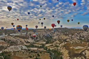 hot-air-balloons-Cappadocia-Turkey