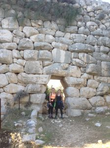 Girls at Delikemer The Lycian Way route