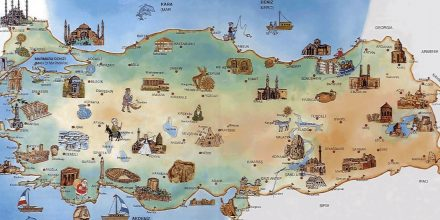 Explore Turkey Map