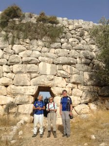 lycian way group delikkemer aquaduct