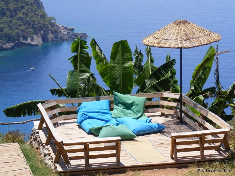 Turkey activity holidays Kabak view